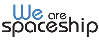 We are Spaceship Logo